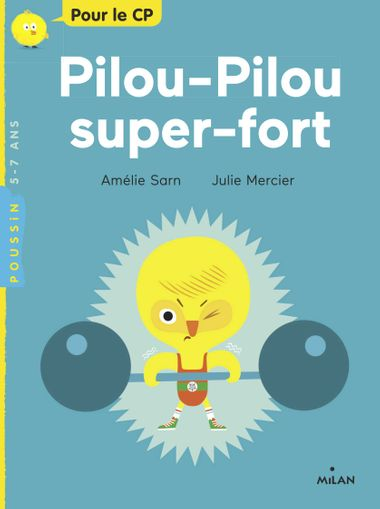 Couverture de « Pilou-Pilou super-fort »