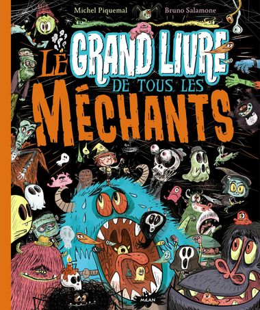 Couverture de «Le grand livre de tous les méchants»