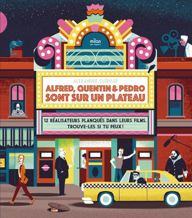 Couverture de «Alfred, Quentin et Pedro sont sur un plateau»