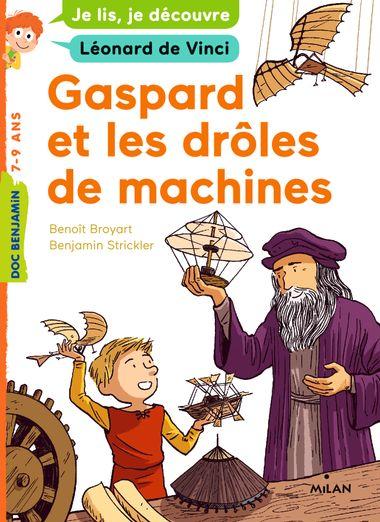 Couverture de «Gaspard et les drôles de machines»