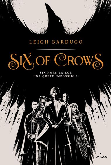 Couverture de « Six of crows »