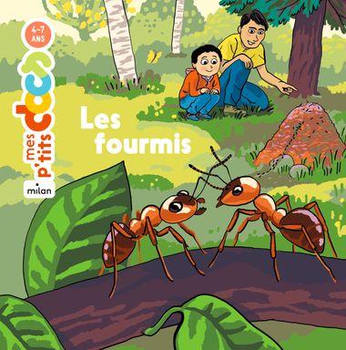 Couverture de «Les fourmis»