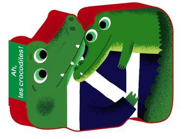 Couverture de «Ah, les crocodiles»