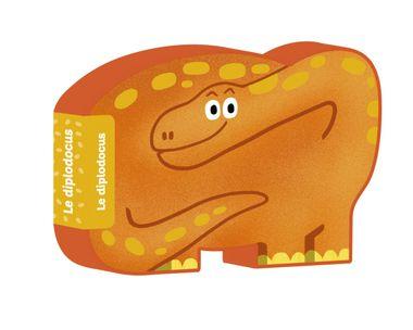 Couverture de «Le diplodocus»