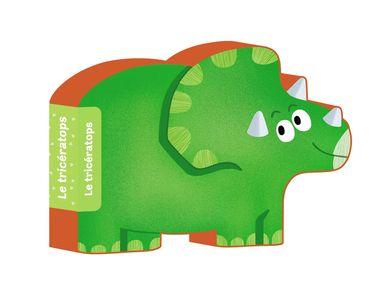 Couverture de «Le tricératops»