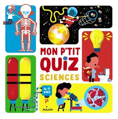 Couverture de «Mon p'tit quiz sciences»