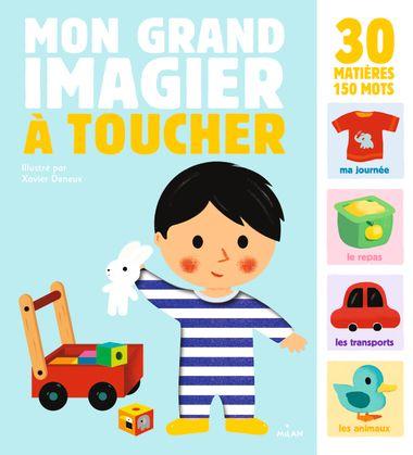 Couverture de «Mon grand imagier à toucher»