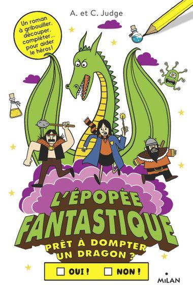 Couverture de «L'épopée fantastique»