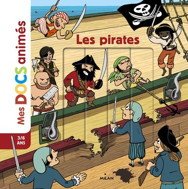 Couverture de « Les pirates »