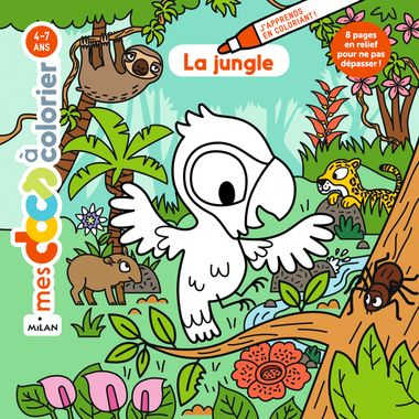 Couverture de « La jungle »