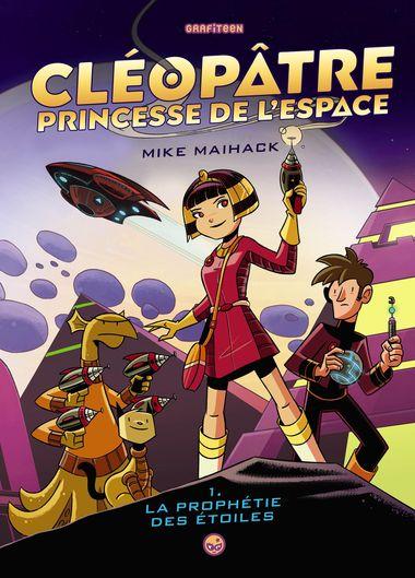 Couverture de «Cléopâtre princesse de l'espace»