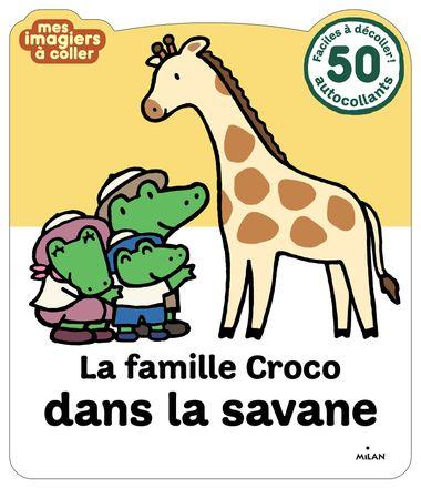 Couverture de «La famille Croco dans la savane»