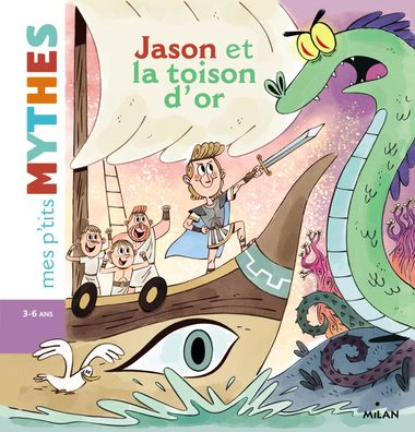 Couverture de « Jason et la Toison d'or »