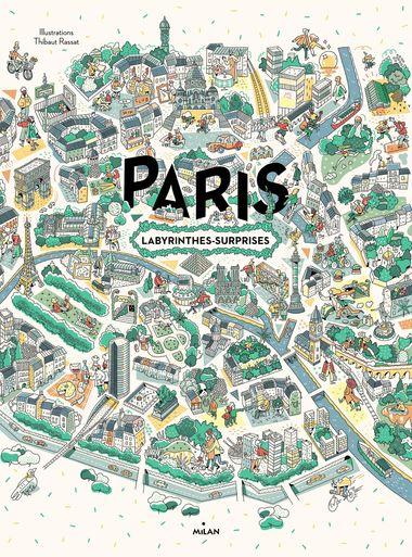 Couverture de «Paris, labyrinthes-surprises»