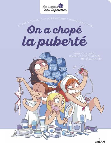 Couverture de « On a chopé la puberté »
