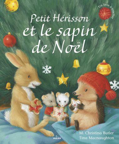 Couverture de «Petit Hérisson et le sapin de Noël»