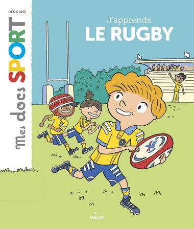 Couverture de « J'apprends le rugby »
