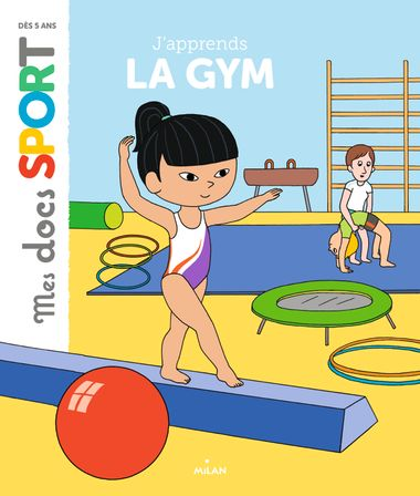 Couverture de « J'apprends la gym »