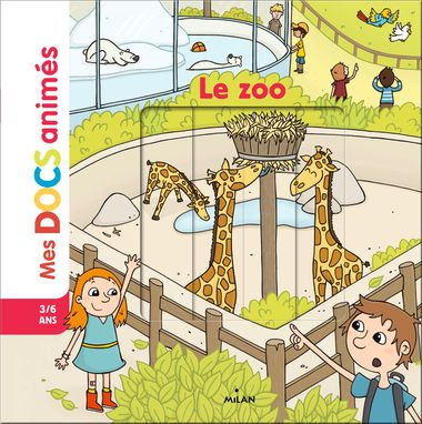 Couverture de « Le zoo »