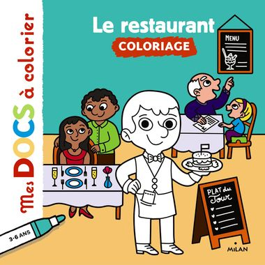 Couverture de « Le restaurant »