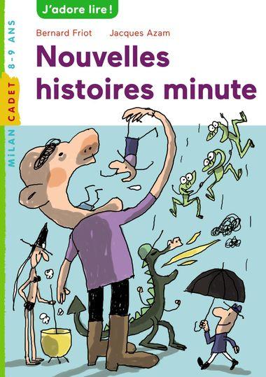 Couverture de «Nouvelles histoires minute»