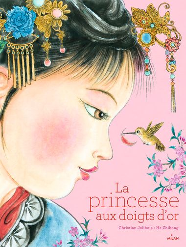 Couverture de «La princesse aux doigts d'or»