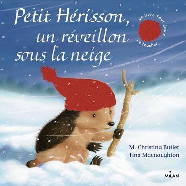 Couverture de «Petit Hérisson Un réveillon sous la neige (tout carton)»