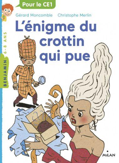 Couverture de «L'énigme du crottin qui pue»