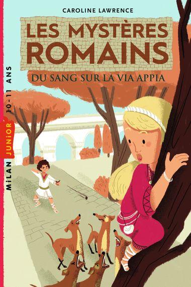 Couverture de «Du sang sur la via Appia»
