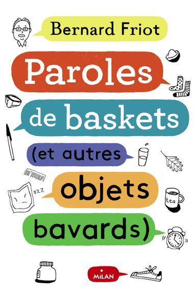 Couverture de « Paroles de baskets (et autres objets bavards) »