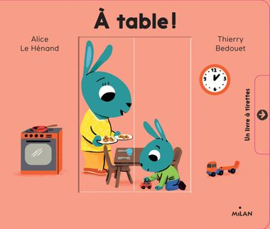 Couverture de « Les Minousses – À table ! »