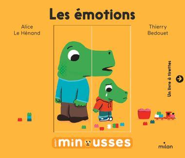 Couverture de «Les Minousses – Les Émotions»