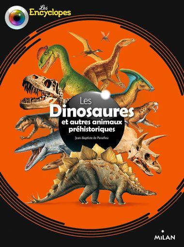 Couverture de «Les dinosaures et autres animaux préhistoriques»