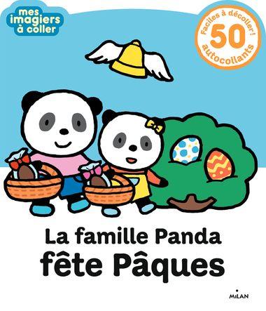 Couverture de «La famille Panda fête Pâques»