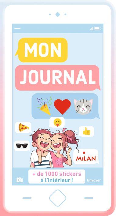 Couverture de «Mon journal en émojis»