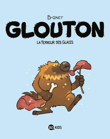 Couverture de «Glouton, la terreur des glaces»