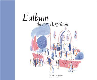 Couverture de «L'album de mon baptême»