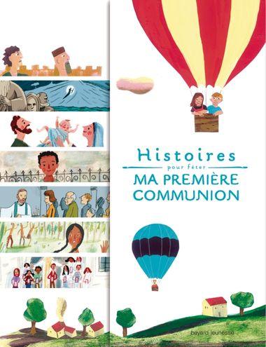 Couverture de «Histoires pour fêter ma première communion»