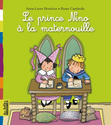 Couverture de «Le prince Nino à la maternelle»
