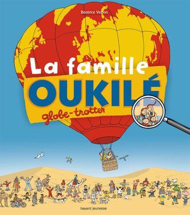Couverture de «La famille Oukilé globe-trotter»