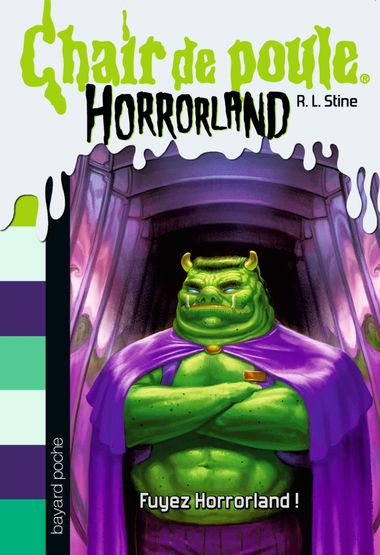 Couverture de «Fuyez Horrorland !»