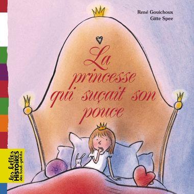Couverture de «La princesse qui suçait son pouce»