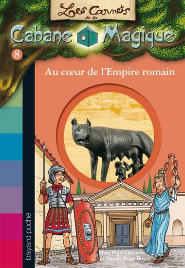 Couverture de « Au cœur de l'empire romain »
