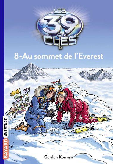 Couverture de «Au sommet de l'Everest»