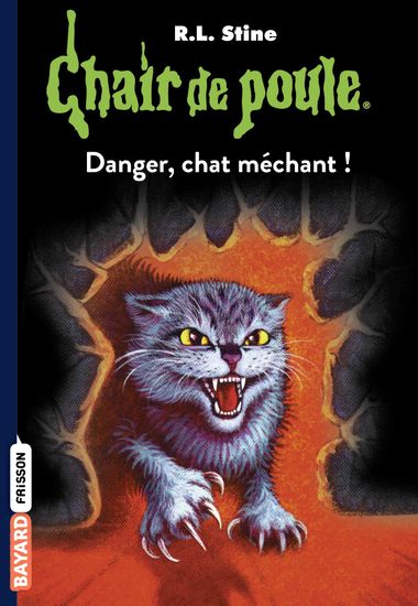 Couverture de « Danger, chat méchant ! »