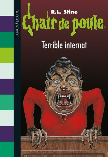 Couverture de « Terrible internat »