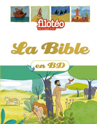 Couverture de « La Bible en BD »