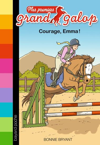 Couverture de « Courage, Emma ! »