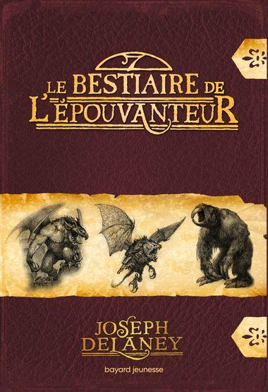 Couverture de «Le bestiaire de l'Épouvanteur»