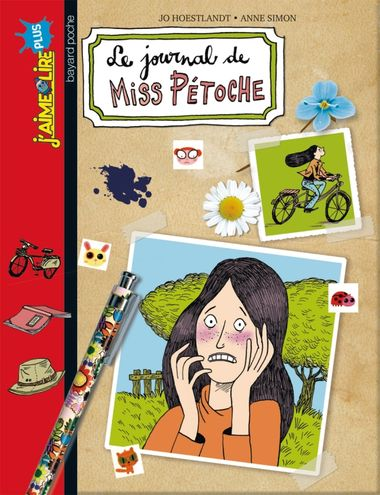 Couverture de « Le journal de Miss Pétoche »
